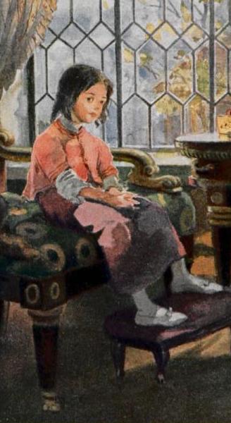 Татьяна Ларина в детстве